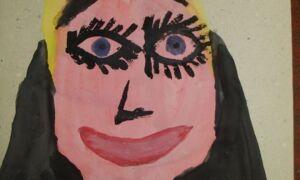 Дети рисуют своих матерей — 20+ трогательных и забавных портретов